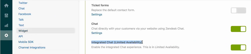Beta: Integrating with Zendesk Chat