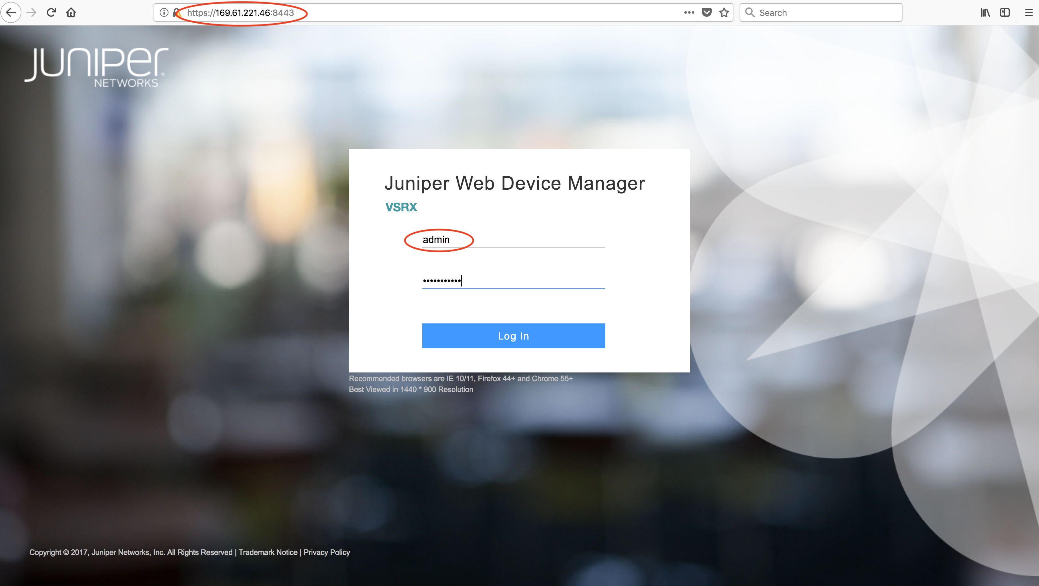 Performing IBM Cloud Juniper vSRX Basics