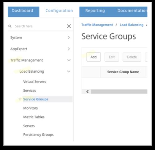 Configure the DNS Virtual Server