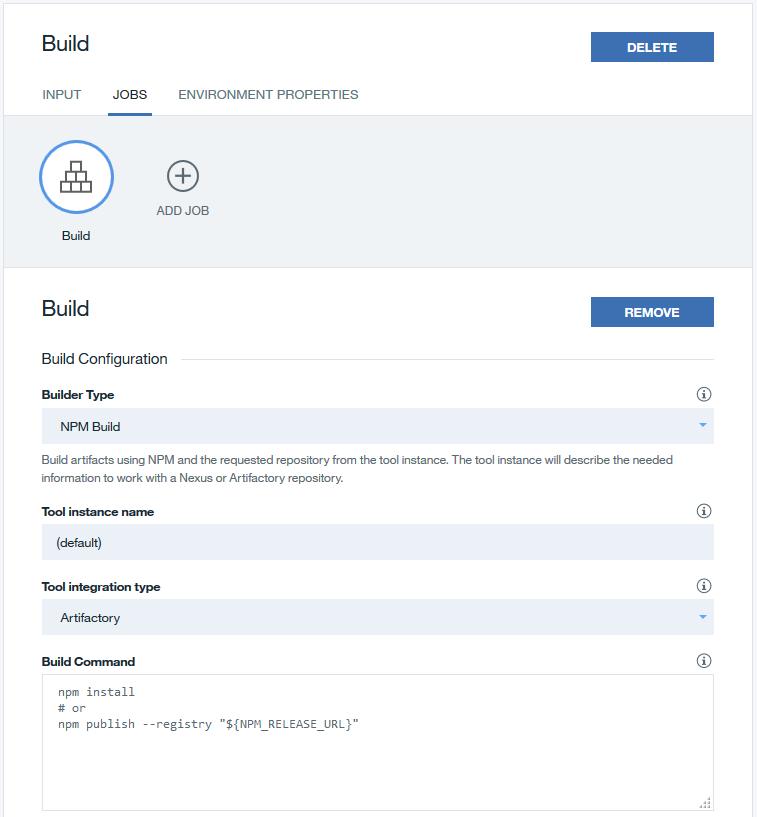 Configuring tool integrations