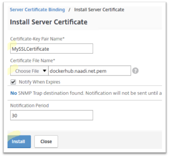 Configure Cache Redirection for SSL traffic (Optional)