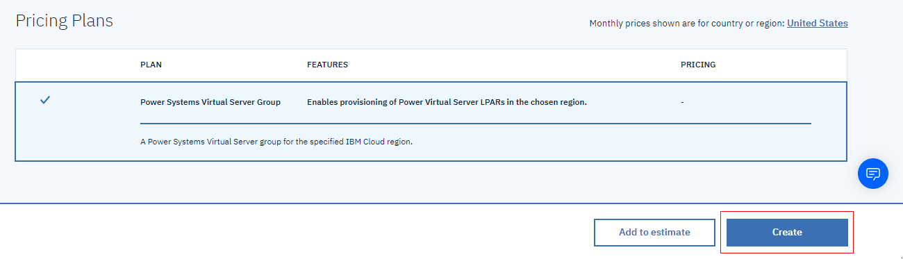 Creating a Power Systems Virtual Server